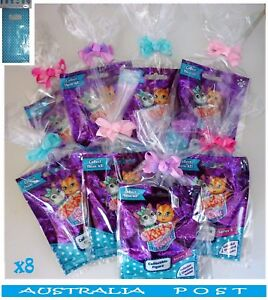 Kitty-In-My-Pocket-Collectible-Figures-Series-2-with-Clear-Bags-amp-Bows-x8-NEW