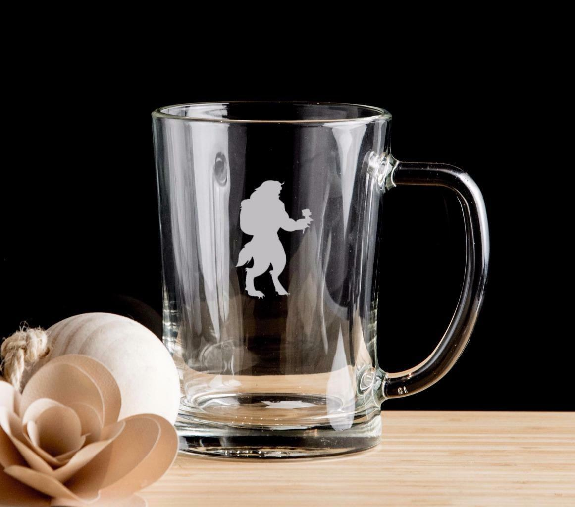 Beauty and the Beast Set De 4 Chope Pinte Verre Cadeau pour him.15
