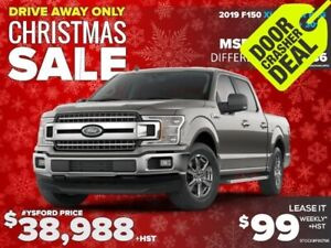 2019 Ford F-150 XLT Lease it for $99/week+ HST