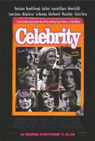 Celebrity Original Single-sided One Sheet Rolled Movie Poster 27x40 1998