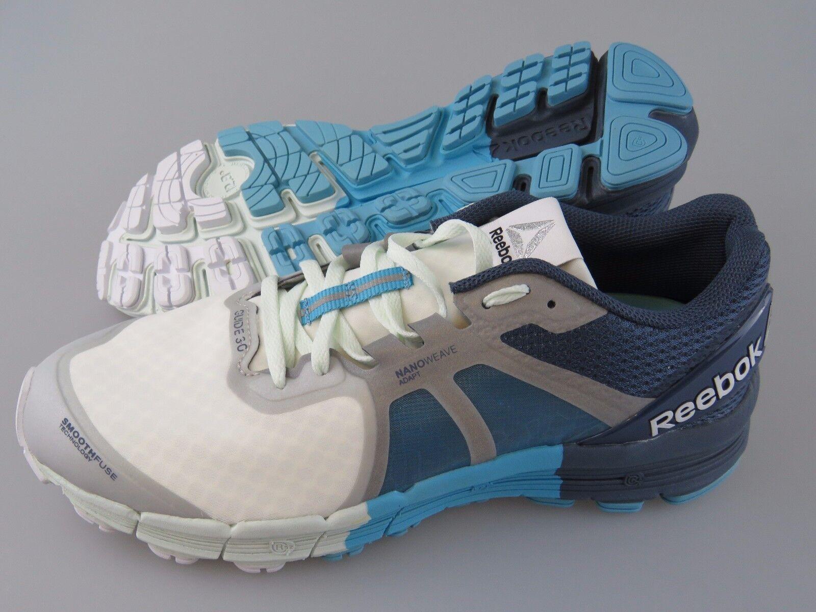 REEBOK One Guide 3.0 Opal Royal Slate Crisp bluee Athletic shoes Women's US 9.5