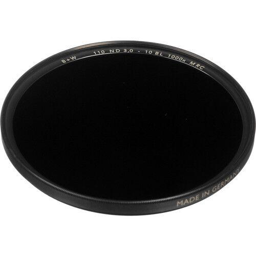 B W 37mm MRC 110M Solid 3.0 Filtro de densidad neutra 10 Parada