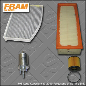 04-10 Oil,Air /& Pollen Filters Service Kit Astra H 1.4