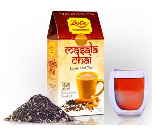 MASALA CHAI LEAF TEA 100g