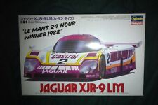 1/24 Hasegawa 1988 Le Mans Winning Jaguar XJR-9LM, opened but with all wrapping.