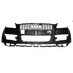 2010-2015 Audi Q7 Bumper Front Primed With Sensor/Washer Without S-Line Canada Preview
