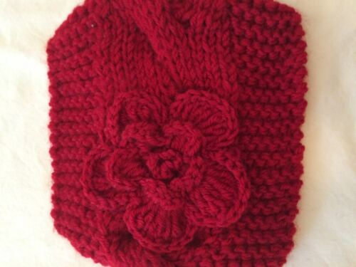 Knit Head Band With Bow By MS Acessorries