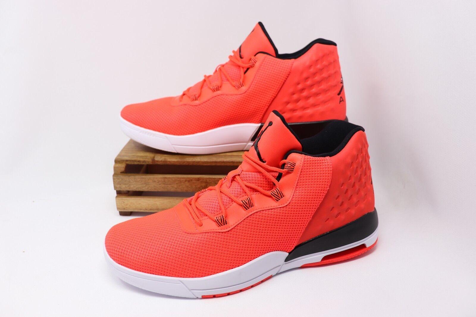 Nike Air Jordan Academy Basketball shoes Infrared White 844515-605 Men's NEW