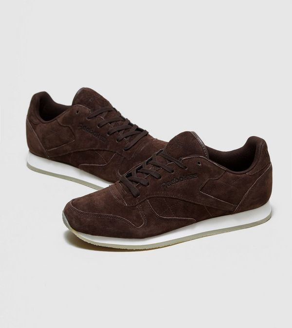 Reebok Mens CL Leather CREPE LO Trainers