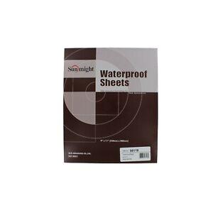 Sunmight-08118-9-034-x-11-034-600-Grit-Waterproof-Sanding-Sheets