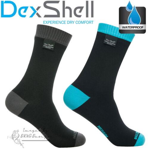 Dexshell coolvent Lite Imperméable Hommes Cyclisme Chaussettes de course poids léger