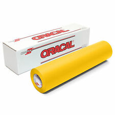 ORACAL 631 Adhesive Backed Matte Vinyl 12in x 10ft Roll - YELLOW