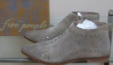 New Free People Aquarian Ankle Boot For Women Taupe Sz 8/38 $168