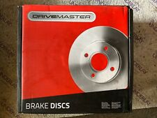 Drivemaster DMD107 Front Brake Discs x2 280mm Diameter Vented 26mm Thickness