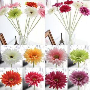 Kunstliche Gerbera Blumen Blutenkopfe Kunstblume Seidenblumen