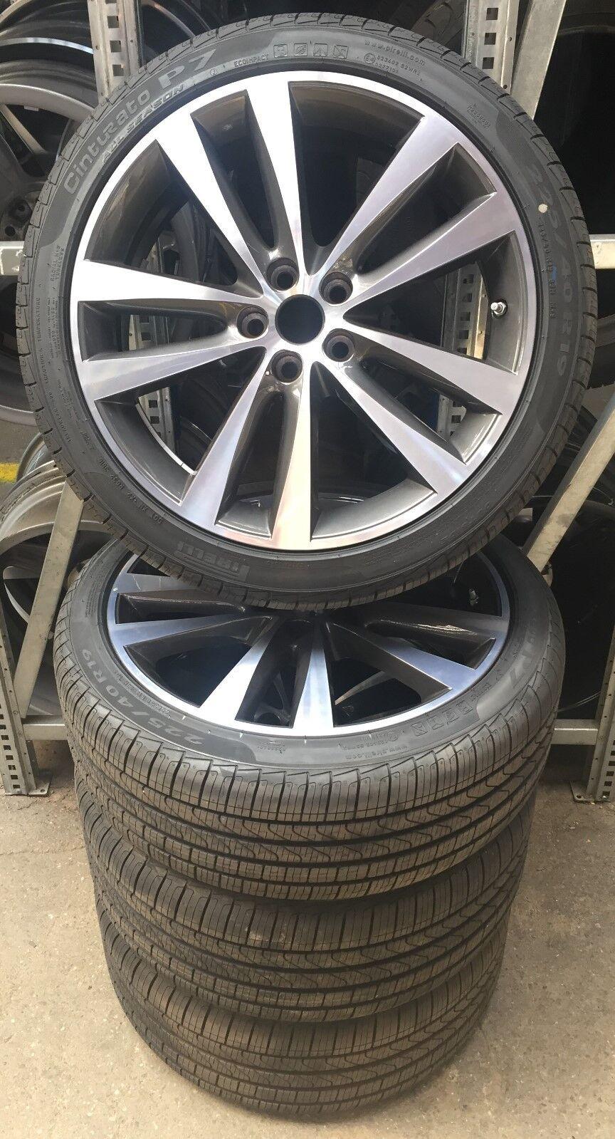 4 jaguar venom x760 complete wheels 225 40 r19 93h 255 35. Black Bedroom Furniture Sets. Home Design Ideas