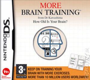 Discret Plus D'entrainement Cérébral Du Dr Kawashima: Quel âge A Votre Cerveau? (ds Game) * Très Bon état *-afficher Le Titre D'origine