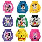 New Kid Mickey Mouse Sweater Sweatshirt Hoodies Girl Boy Cartoon Jumper Top Coat