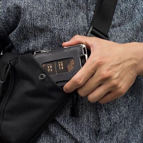 Dango M2 Maverick Wallet Single Pocket Leather Hand Polished Nickel Plated