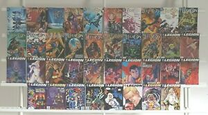 De-la-Legion-1-38-Completo-Dc-Comics-Superheroes-2001-Juego-Ejecutar-Lote-MB-NM