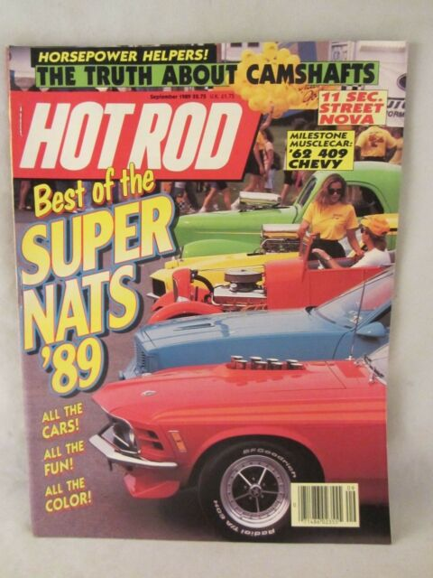 Hot Rod Magazine -  September 1989 , Best of the Super Nats  '89  (618)