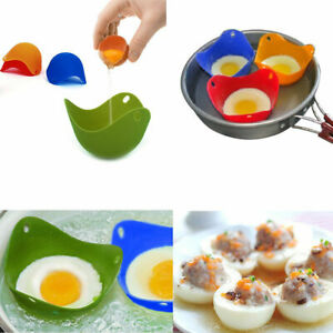 4-Cookare-Silicone-Egg-Poacher-Poaching-Pods-Pan-Poached-Cups-Mould-For-Kitchen