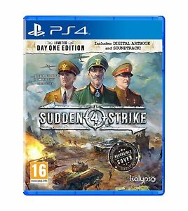 Sudden-Strike-4-Day-One-Edition-For-PS4-New-amp-Sealed