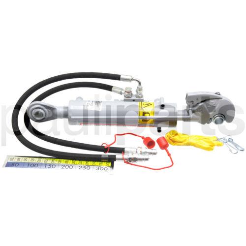 Hydraulischer Oberlenker 2 Sperrblock seitlich Kat Hub 220 mm CBM Fanghaken