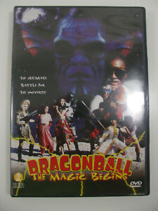 DragonBall-Magic-Begins-VERY-Rare-OOP-1993-Dragon-Ball-Z-Live-Action-Cult-DBZ