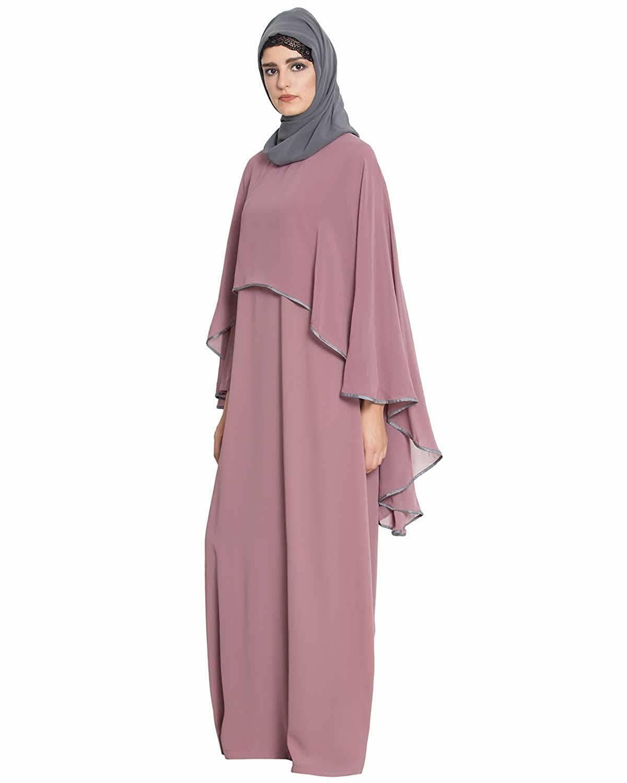 Abaya Party Mode Stylish Dubai Very Fancy Abaya Kleid