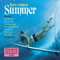 Here Comes Summer Various Artists 50s & 60s Hits Best Of 60 Songs 3 Cd