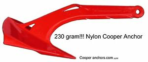 230-Gram-Nylon-Cooper-Anchor-NEW-PRODUCT-for-Kayaks-and-Canoes-FREE-post-USA