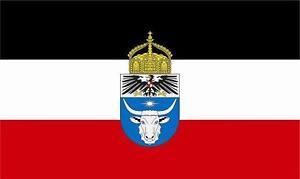 Flagge Mit Krone