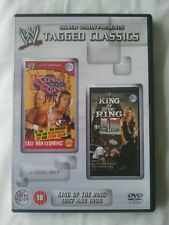 fWWE Tagged Classics - King Of The Ring 1997 & 1998 (DVD) WWF Rare Deleted 97 98