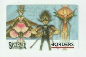 Gift-Card-Spiderwick-Chronicles-Borders-Black-amp-DiTerlizzi-2006-No-Value