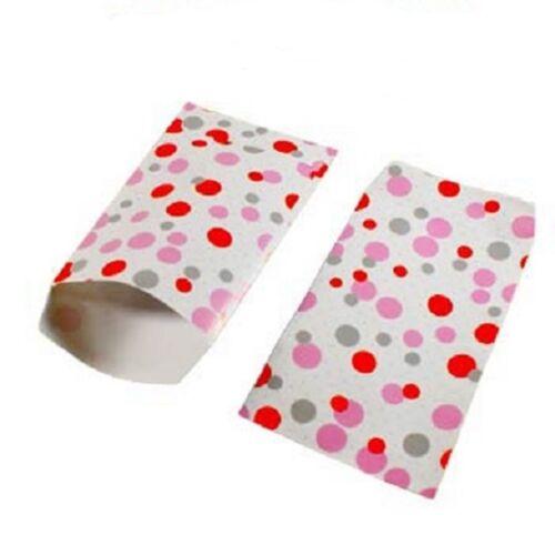lot 50 pochettes sachets fantaisie papier 16x24 rouge g emballage cadeaux,bijoux