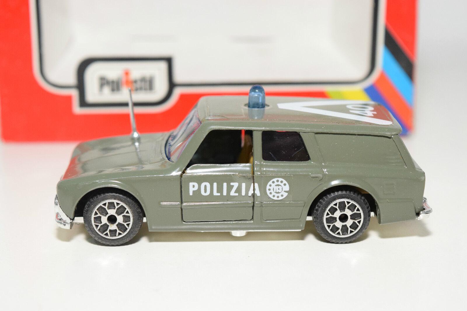 POLISTIL CE19 CE 19 CE-19 ALFA ROMEO GIULIA FAM. FAM. FAM. POLIZIA MINT BOXED RARE SELTEN 4e3d90