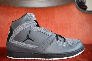 innovative design 6ac94 f2adf Image is loading NEW-Nike-Air-Jordan-1-Flight-Dark-Grey-