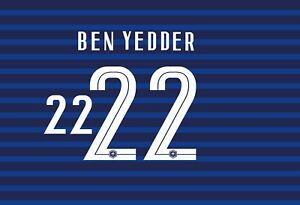 France Euro 2020-2021 Home Away Football Shirt Nameset Any Name /& Number