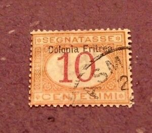 Eritrea-Stamp-Scott-J2-Postage-Due-1903-C293