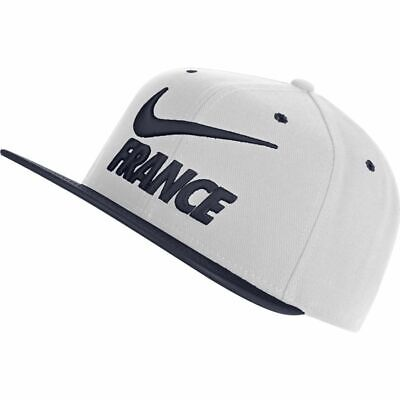Indefinido Importancia Tigre  Nike France FFF WC World Cup 2018 Soccer Flat Brim Adjustable Hat Cap White    eBay