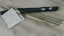 Switch caña de pescar #4/5 11,6 ft 17,5gr. WG 4 piezas sustitución & punta & cañas tubo