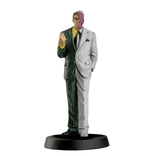 environ 10.16 cm FIGURE NEW Eaglemoss DC super hero collection Double-face 4 in