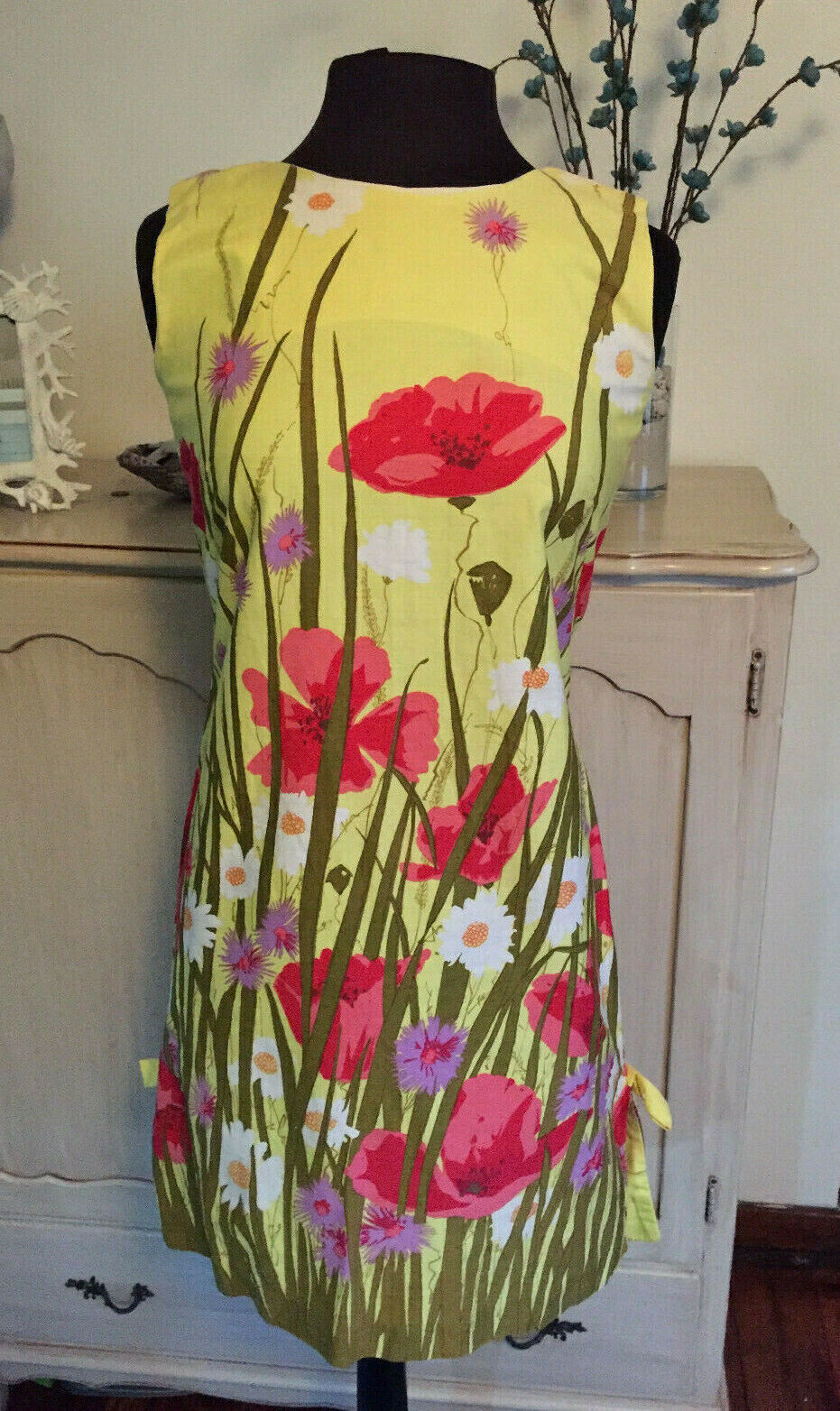 CHARLOTTA BY GLAZIER BEAUTIFUL YELLOW DRESS SMALL SMALL SMALL 5195c7