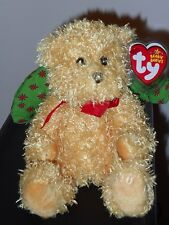 Ty Beanie Baby ~ JOYOUS the Angel Bear ~ MINT with MINT TAGS ~ RETIRED