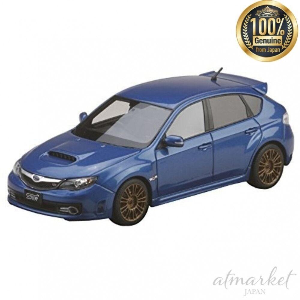 Mark 43 coche PM4370SBL 1 43 Subaru Subaru Subaru Impreza Wrx Sti (UNIFEM) Azul Genuino opción Wr bc17cf
