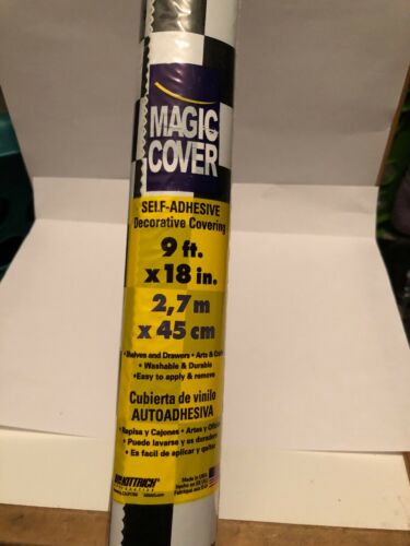 "Magic Cover Self Adhesive Decorative Covering Boardwalk 9' X 18"""