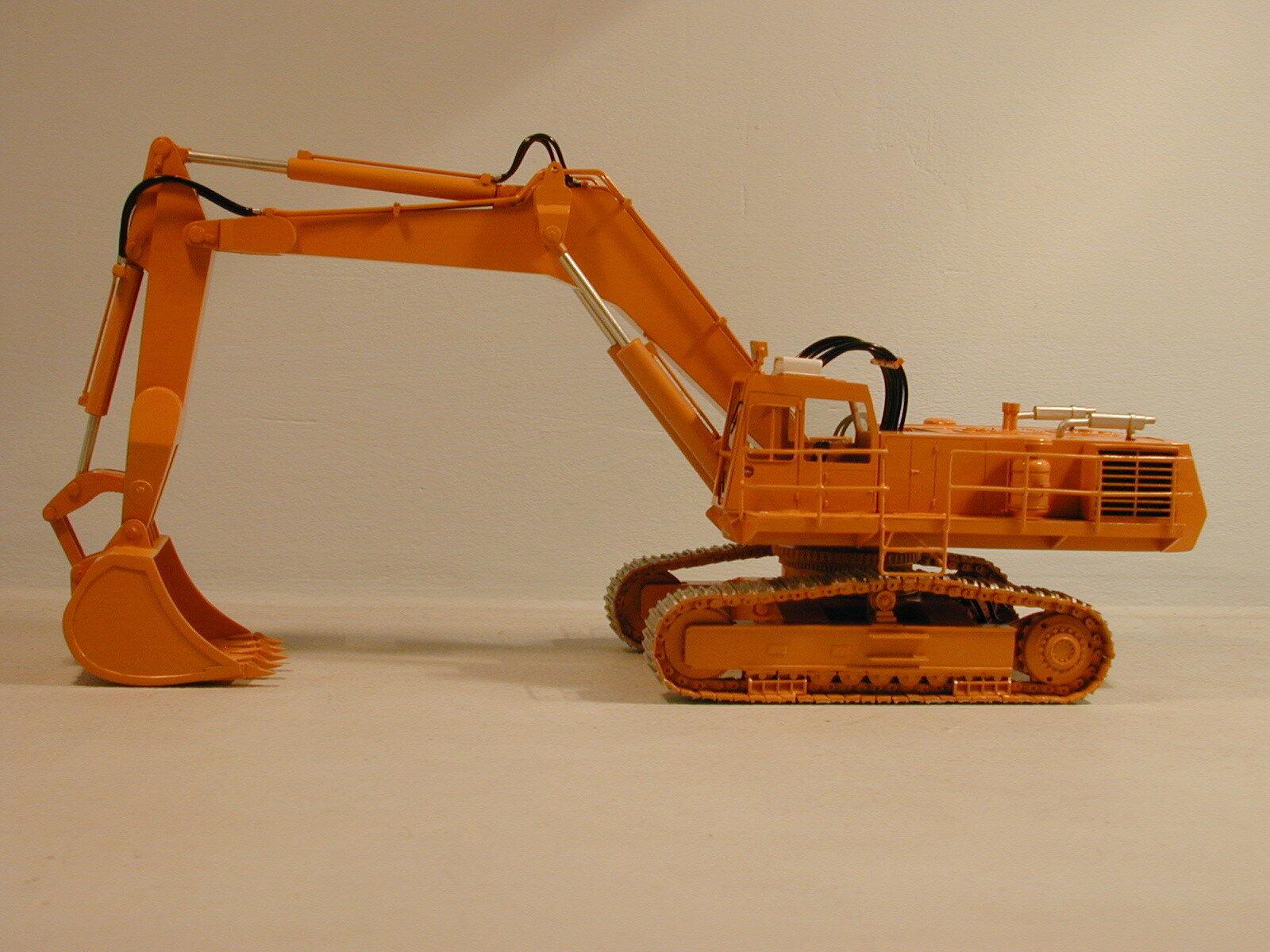 H 111 back hoe Cresta-kit de resina de alta calidad por Dan Modelos