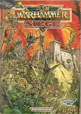 WARHAMMER FANTASY / 40000 - Siege Rules (1988 Edition)