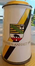 Bierkrug mit Deckel 97% Zinn der Henninger-Brauerei Sammelobjekt Sachsen-Anhalt